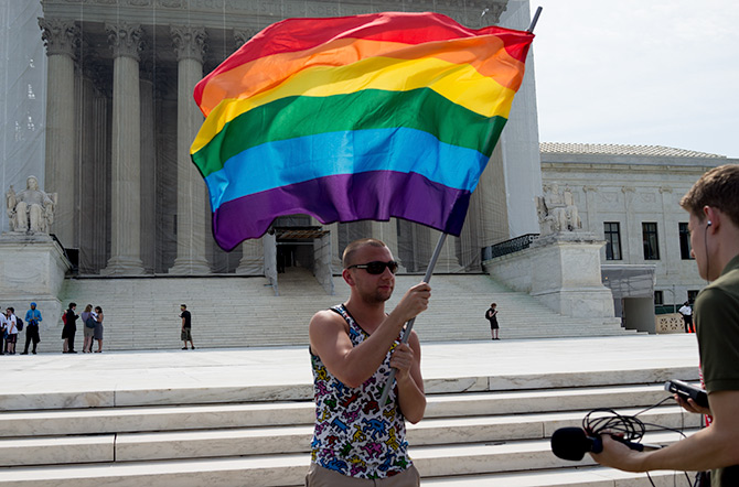 Waiting for the Supreme Court ruling on marriage equality