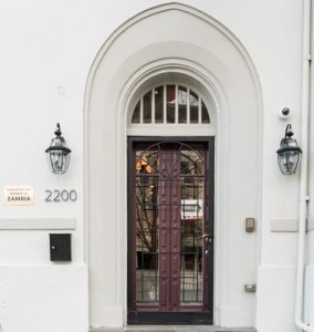 2200 R St. NW – Embassy of Zambia